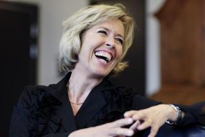 Anne Grete lo og var morsom! Foto: Tove K. Breistein Fra http://bit.ly/gLQSHv