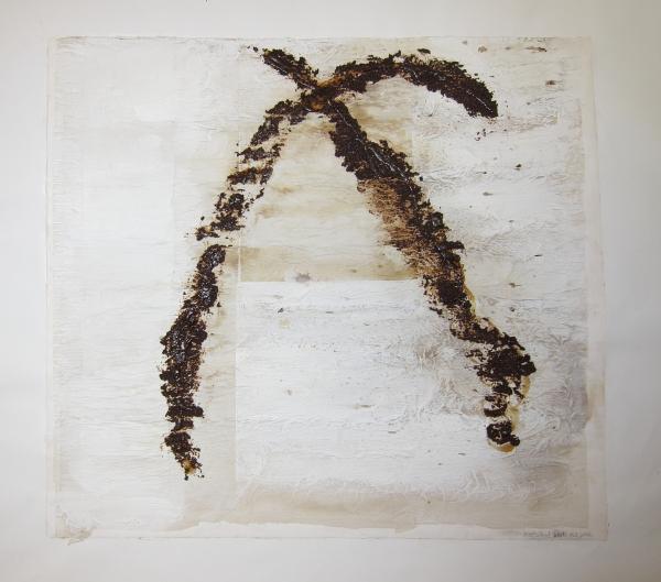 """""""X"""" Maleri av Maria Gjerpe"""