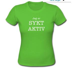 """""""Sykt Aktiv"""" kan kjøpes her: http://bit.ly/uRnxaq"""